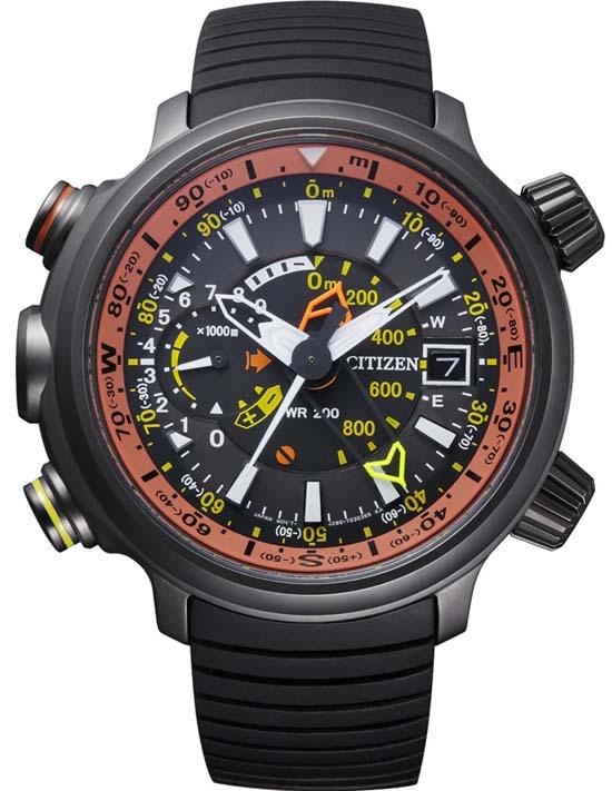 Citizen BN4026-09F - Kompas + Výškoměr 1b3e4e3ddc9